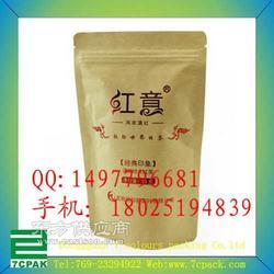 纸塑复合袋生产厂家 自立贴骨牛皮纸袋图片