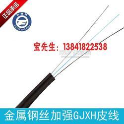 热销GJXH单芯室内电信级入户金属加强1芯皮线低烟无卤阻燃光缆0.25元图片