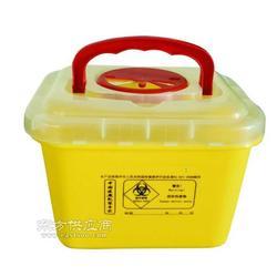 有提手的利器盒,5L方形利器盒,医疗方形利器盒,锐器盒图片
