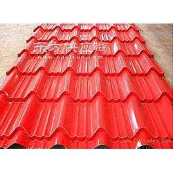 镇江宝钢绯红彩钢板厂家图片