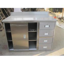 中捷厨业 厨房不锈钢工作台-常德不锈钢工作台图片