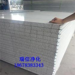 高密彩钢板|瑞信净化(优质商家)|纸蜂窝彩钢板图片