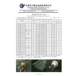 精密丝杆、SUS303精密丝杆生产、万福五金(推荐商家)图片
