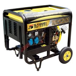 3KW电启动柴油发电机型号图片