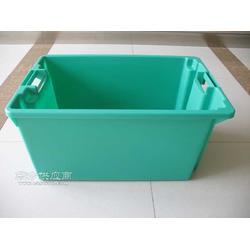 塑料物流箱丨塑料套叠箱图片
