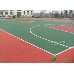 丙烯酸篮球场高经济性塑胶地面材料图片