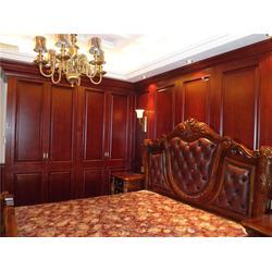 旭派门业不容错过 实木护墙板多少钱-衢州护墙板图片