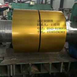 木纹彩涂板厂-伊宁木纹彩涂板-金宏润钢铁生产厂家(查看)图片