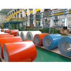 汉中彩涂卷-金宏润钢铁厂家直销-绯红彩涂卷图片