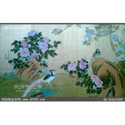 大型酒店壁画厂家鸿韵画业是您最好的选择图片