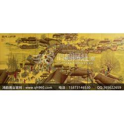 金箔漆画质量关键鸿韵画业品质出众图片