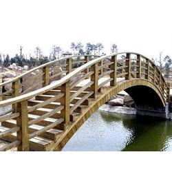 宜昌源森木结构,宜昌防腐木木桥,防腐木木桥图片