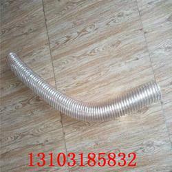 PU管扫路车用-抗老化螺旋PU管-超耐磨PU管厂家加工图片