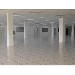 大同塑胶地板_大众机房地板工程_塑胶地板厂家直销图片