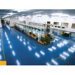 朔州环氧地坪、山西大众机房地板、环氧地坪施工公司图片
