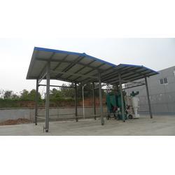 膜结构停车棚需要多少钱-新凯钢膜结构-膜结构停车棚图片