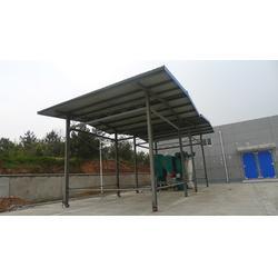 别墅车棚搭建厂家-新凯钢膜结构质量可靠-湖州车棚图片