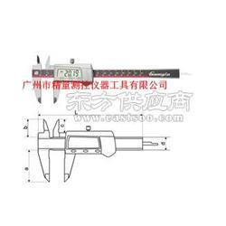 精量零售广陆牌3V锂电数显卡尺图片