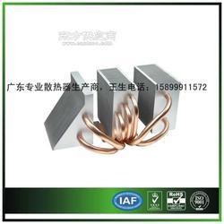 制冷冰箱散热器鳍片铜管散热器生产图片