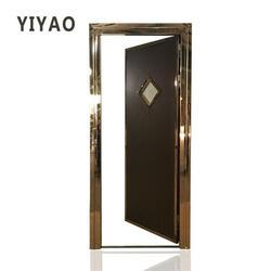 娄底市KTV门、用于装饰、KTV门不锈钢门图片