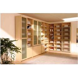 法米诺橱柜 欧式书柜定做-万柏林书柜定做图片