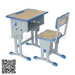 单人课桌椅,山风校具款式多样,课桌椅图片