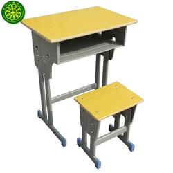 山风校具诚实守信 双人课桌椅 重庆双人课桌椅图片