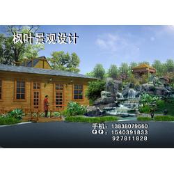 枫叶景观设计 上海生态园假山-生态园假山图片