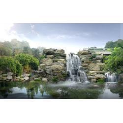 枫叶景观设计,假山盆景,吉林假山图片