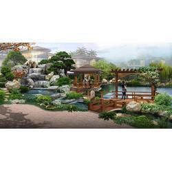 枫叶景观设计 室内假山水池-山东室内假山图片