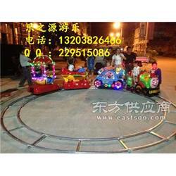 小型儿童电动轨道小火车 电柜小火车厂家图片