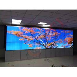 博慈55寸液晶拼接屏监控系统入驻中国科学院高等研究院监控机房图片