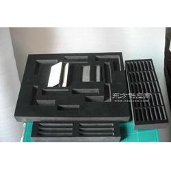 黑色植絨工具擺放包裝海綿,機械零件包裝海綿圖片