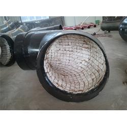 焊接耐磨陶瓷弯头、乌海耐磨陶瓷弯头、旭盈管业(查看)图片