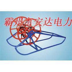 钢丝绳线盘支架钢丝绳收线架图片