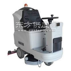 小区物业用驾驶式洗地机R700BT,大面积保洁用工业洗地机图片