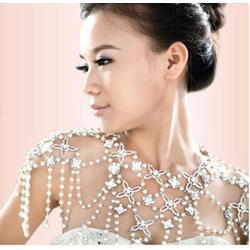 结婚肩链、紫萱蝶饰品厂、结婚肩链婚纱配饰图片