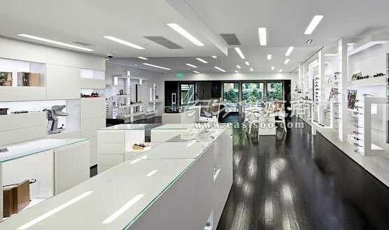 眼镜店装修展柜尺寸设计材料制作注意事项价格