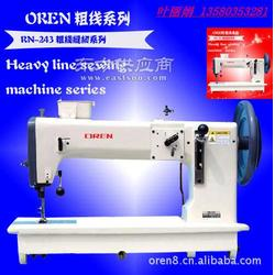 厚料粗线板式缝纫机大和进口平缝机图片