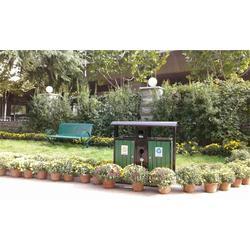 郑州凹晶园林设施厂(图)_小区垃圾桶订做_小区垃圾桶图片