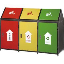 户外垃圾桶厂、郑州凹晶园林设施厂(已认证)、户外垃圾桶图片
