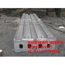 中型数控车床床身底座铸件 专用数控车床床脚批量生产厂家图片