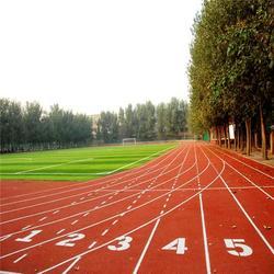 塑胶跑道材料定制,哈尔滨塑胶跑道材料,优踏体育(查看)图片