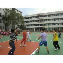 优踏体育,硅PU篮球场跑道材料,三亚硅PU篮球场跑道图片