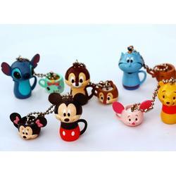 Disney迪士尼PVC锁圈加工厂家-东洋图片