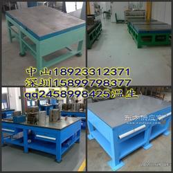 铸铁钳工桌铸铁模具修模台铸铁工作桌车间图片