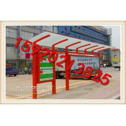 候车亭生产厂家 仿古公交候车亭/城市公交候车亭广告灯图片