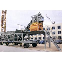 天虎机械(图),混凝土搅拌站出口,嵊州混凝土搅拌站图片