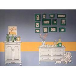 青云谱区墙绘 彩绘棉花糖墙绘 专业墙绘图片