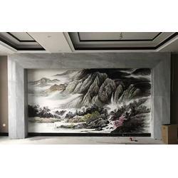 彩绘棉花糖墙绘,卧室墙绘效果图,宜春墙绘图片